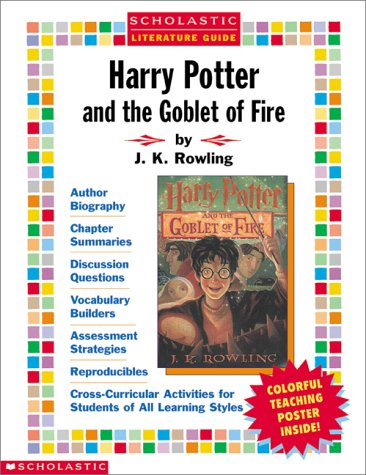 9780439231947: Harry Potter and the Goblet of Fire Literature Guide (Scholastic Literature Guides)