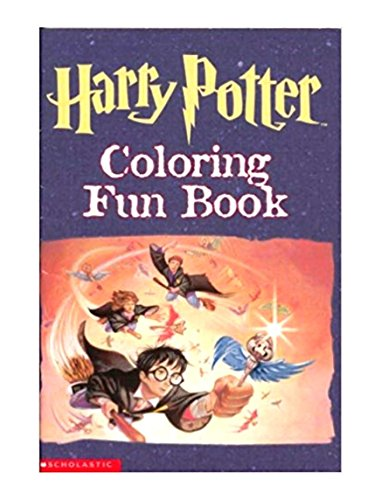 Harry Potter Coloring Fun Book Scholastic