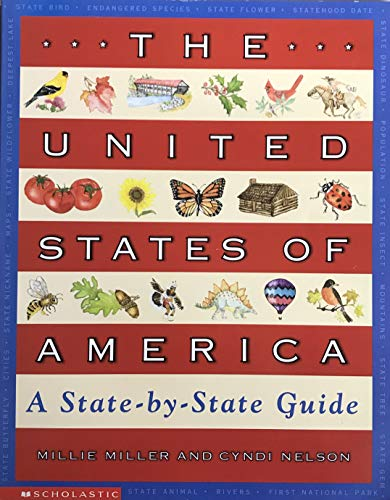 9780439240307: The United States of America: A state-by-state guide