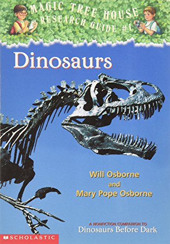9780439241229: Dinosaurs (Magic tree house Research Guide #1)