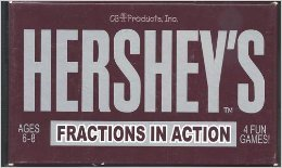 9780439243162: Hershey's Fractions in Action (4 Fun Games Ages 6-8)