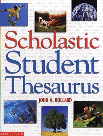 9780439248822: Scholastic Student Thesaurus