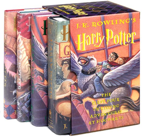 9780439249546: Harry Potter Boxed Set