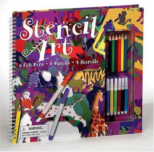 9780439249584: Stencil Art