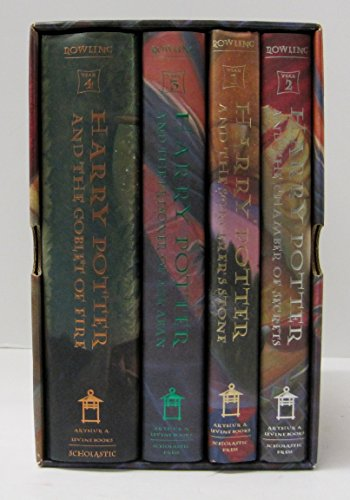 9780439252577: Harry Potter: The First Four Thrilling Adventures at Hogwarts
