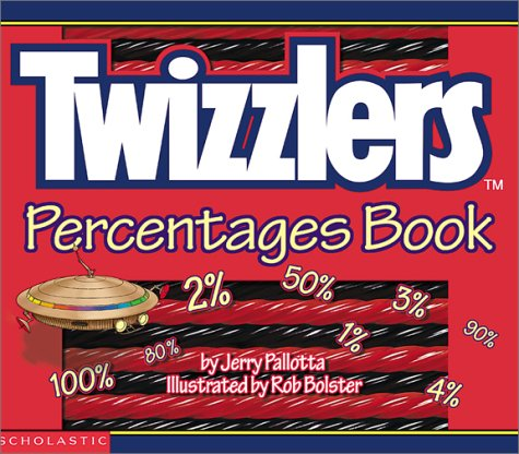 9780439254076: Twizzlers Percentages Book
