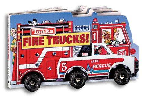 Tonka: Fire Trucks (big Board Book W/ Wheels): Torres, Melissa A.