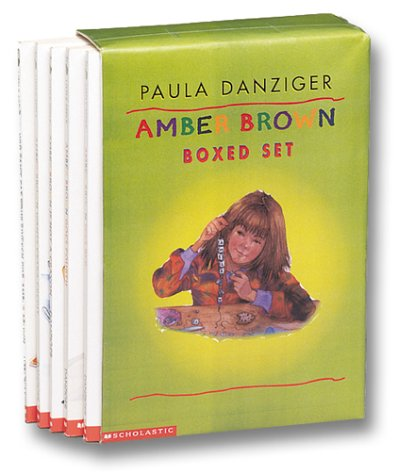 9780439260114: Amber Brown Boxed Set: Amber Brown Sees Red; I, Amber Brown; Forever Amber Brown; Amber Brown is Feeling Blue