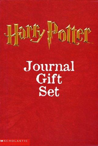 9780439260480: Harry Potter Journal Boxset (3 Pob Journals)