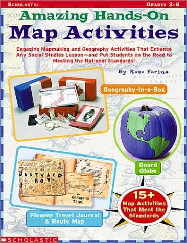 9780439262781: Amazing Hands-on Map Activities: Engaging ...