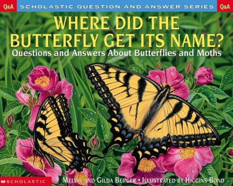 9780439266758: Where Did the Butterfly Get its Name: Questions and Answers About Butterflies and Moths