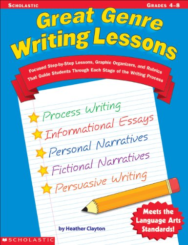 Great Genre Writing Lessons (Grades 4-8): Heather Clayton