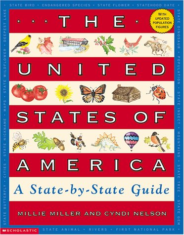 9780439272599: The United States of America: A State-By-State Guide