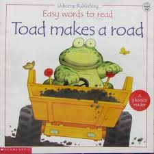 9780439274265: Toad Makes a Road (Easy Words to Read Series)