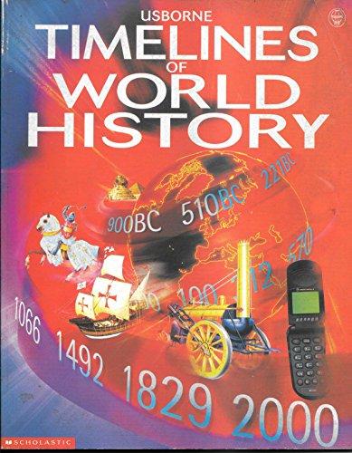 9780439281911: Usborne Timelines of World History