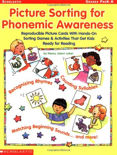 9780439282314: Picture Sorting for Phonemic Awareness: Reproducible Picture Cards with Hands-On Sorting Games & Activities That Get Kids Ready for Reading