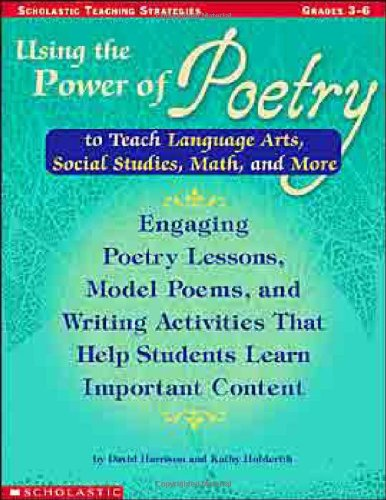 Using the Power of Poetry to Teach: Kathy Holderith; David