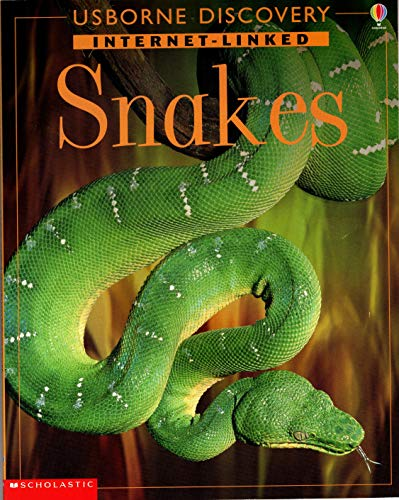 9780439283281: Snakes (Usborne Discovery Internet Linked)