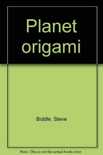 9780439285230: Planet origami
