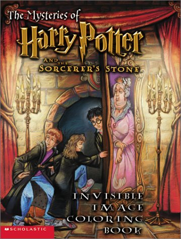 9780439286152: The Mysteries of Harry Potter and the Sorcerer's Stone: Invisible Image Coloring Book With Invisible Pen