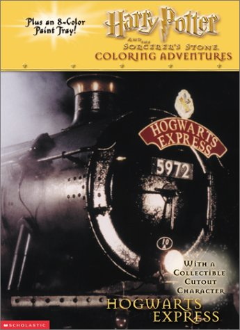 9780439286183: Harry Potter and the Sorcerer's Stone: Coloring Adventures : Hogwarts Express