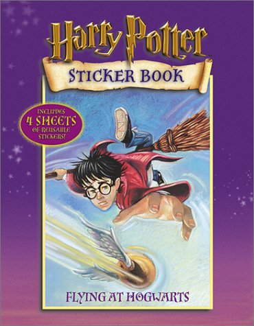 9780439286350: Flying at Hogwarts (Harry Potter Sticker Books)