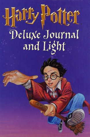 9780439286367: Harry Potter Deluxe Journal and Light