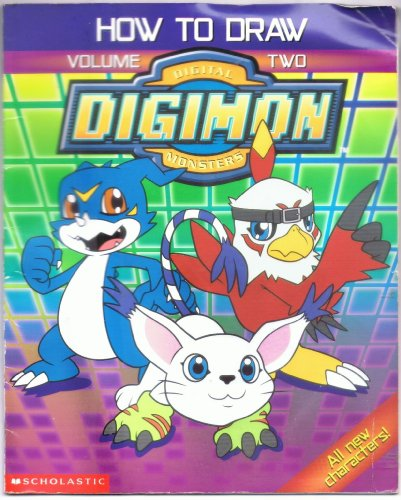 9780439286619: How to Draw Digimon