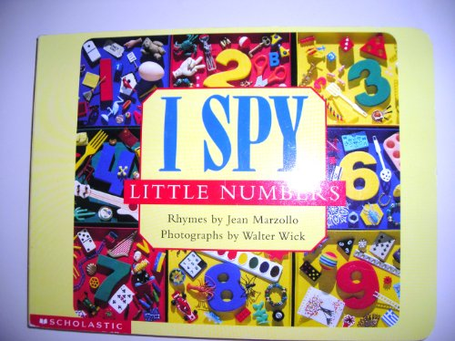 9780439288323: I spy little numbers (I spy little book)