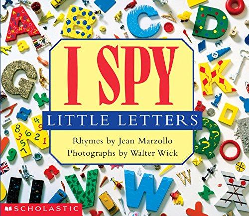 I spy little letters (I spy little book) (0439288347) by Jean Marzollo