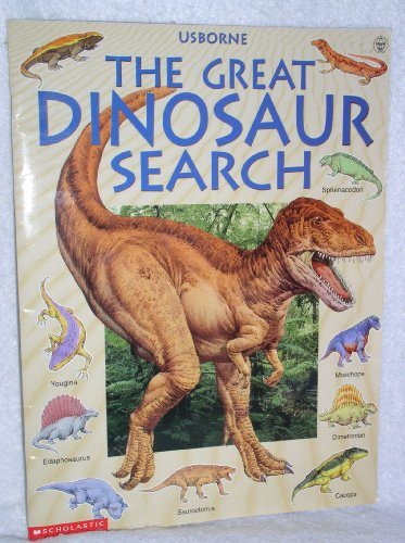 9780439291576: The Great Dinosaur Search (Great Searches)