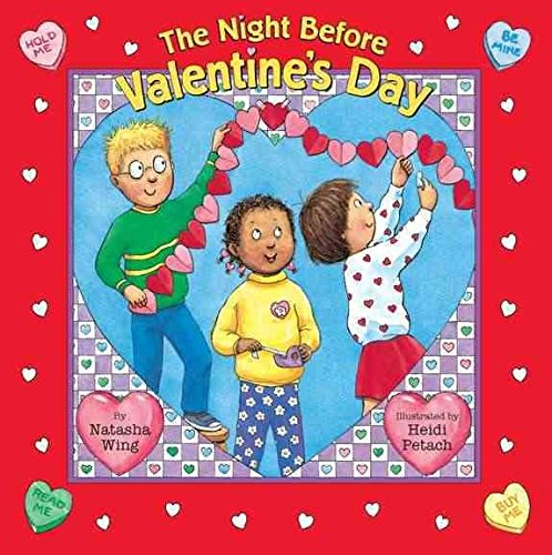 9780439296182: The Night Before Valentine's Day (Reading Railroad Books)