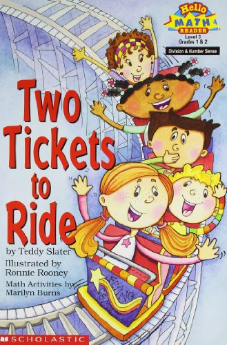 Two Tickets to Ride (Hello Reader! Math,: Teddy Slater