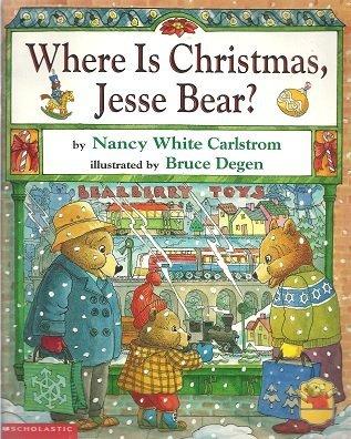 9780439305495: Where is Christmas, Jesse Bear?