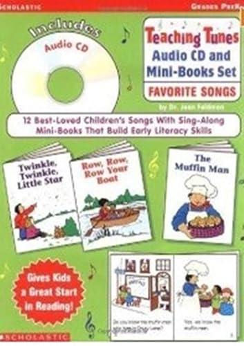 9780439305914: Teaching Tunes Audio Cd And Mini-books Set