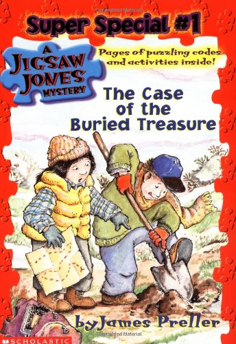 9780439309318: The Case of the Buried Treasure (Jigsaw Jones Mystery Super Special, No. 1)