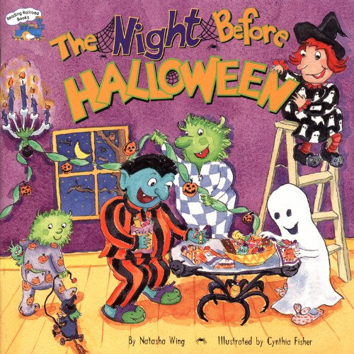 9780439316156: The Night Before Halloween