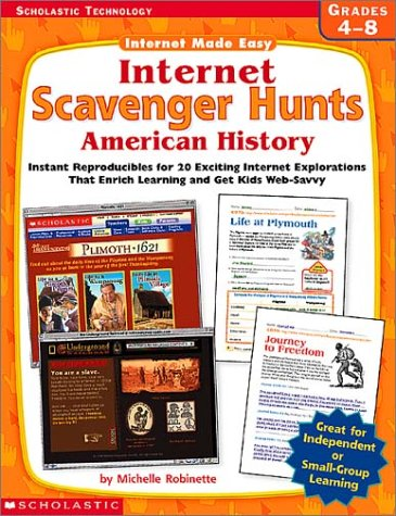 9780439316651: Internet Scavenger Hunts: American History (Internet Made Easy)