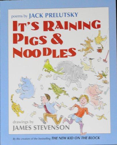 9780439318624: It's raining pigs & noodles: Poems