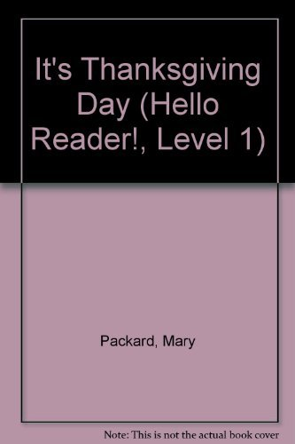 9780439321013: It's Thanksgiving Day (Hello Reader!, Level 1)
