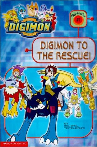 Digimon to the Rescue! (Digimon Reader): Michael S. Teitelbaum