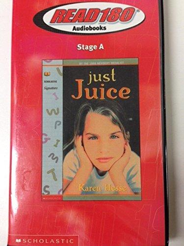 9780439321396: just Juice audio book (Read 180 Audiobooks Stage A)