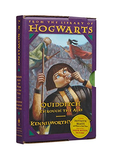9780439321624: Harry Potter Boxed Set: From the Library of Hogwarts: Fantastic Beasts and Where to Find Them / Quidditch Through the Ages: Classic Books from the Lib (Harry Potter / from the Library of Hogwarts)
