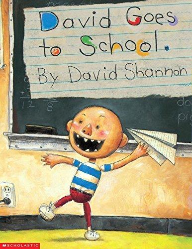 9780439321716: David Goes to School