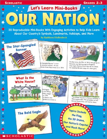 9780439323314: Let's Learn Mini-books: Our Nation