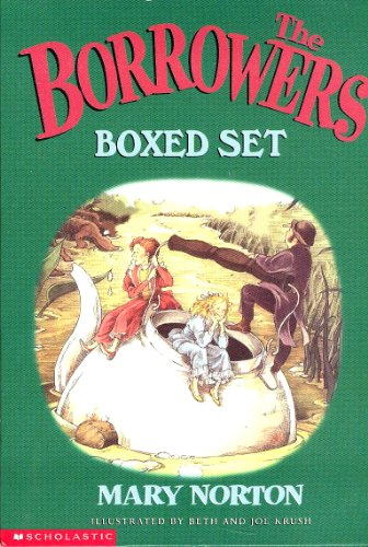 9780439324304: The Borrowers Boxed Set (The Borrowers, The Borrowers Afield, The Borrowers Afloat, The Borrowers Aloft with the short tale Poor Stainless, and The Borrowers Avenged)