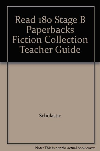 9780439324830: Read 180 Stage B Paperbacks Fiction Collection Teacher Guide