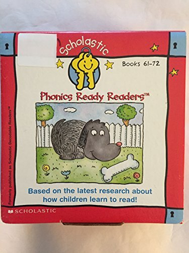 9780439325097: Scholastic Phonics Ready Readers (Books 61-72 in Boxed Set) (Set 6)