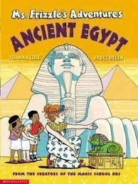 9780439325417: Ms. Frizzle's Adventures-Ancient Egypt