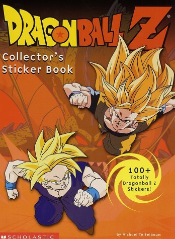 9780439330459: Dragonball Z: Collector's Sticker Book
